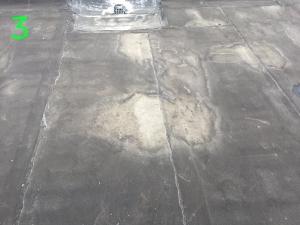 Waterslijtage bitumen dakbedekking